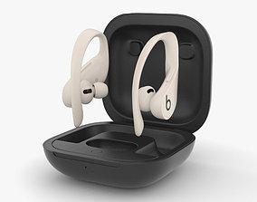 Beats Powerbeats Pro Ivory 3D model