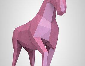 3D print model lowpoly Horse