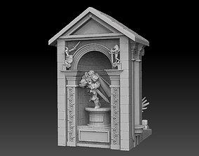 Miniature Display Case 3D printable model npc