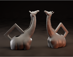 3D printable model Giraffo Watering Can