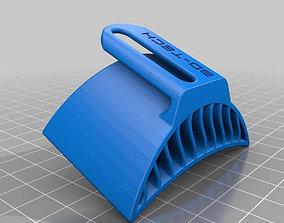 Motorcycle jacket ventilation gadget 3D model