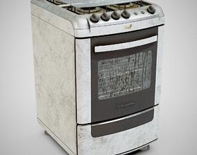 3D model Stove - Electrolux 52SM Dirty