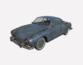 Abandoned Car 44 3D