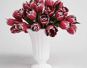 CGAxis flower tree 3D model