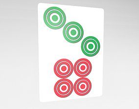 3D asset Mahjong v1 022