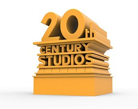 3D printable 20th Century Studios logo