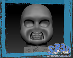 3D printable model Childs Play 2 Chucky Skull