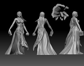 3D print model Sorceress witch enchantress character for 3