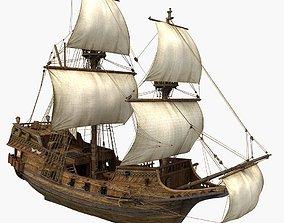 Sailboat 2 historically 3D