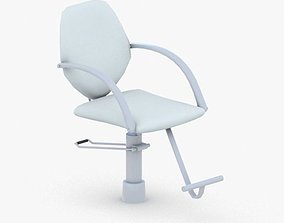 0900 - Hairdresser Chair 3D model