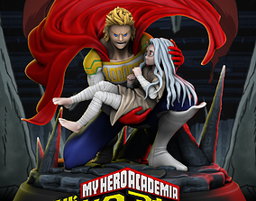 Mirio And Eri - My Hero Academia 3D printable model