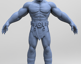 3D model an Orc