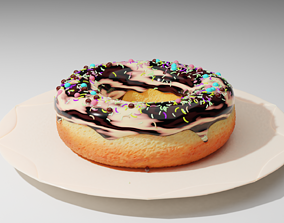 Donut wave-icing 3D