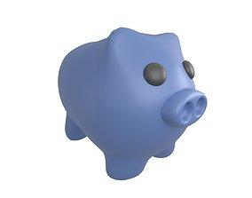 Piggy Bank V1 004 3D model
