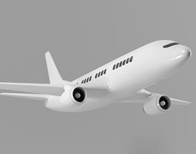 Airplane 3d Model 737