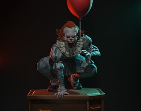 3D print model Pennywise statue