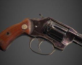 Charter Arms Undercoverette 32 Revolver 3D model