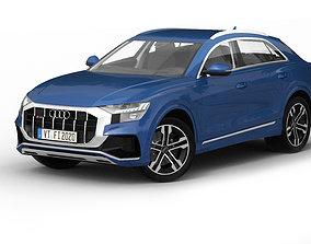Audi Q8 2020 3D model