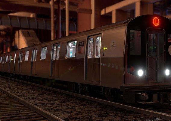 R160 NYC subway railcar