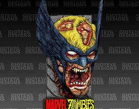 MARVEL ZOMBIES Wolverine Magnet 3D model estatue