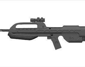 3D print model Battle Rifle