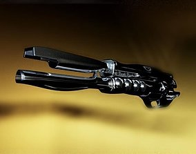 Futuristic Plasma Gun 3D model