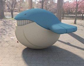 3D asset Pokemon Wailmer