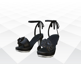Shoes Sandals and Slippers 3D asset realtime