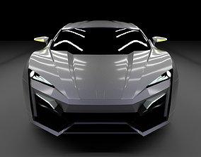 W Motors Lykan Hypersport 3D Model sportscar