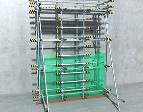 3D Architectural scaffolding