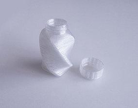 3D printable model Bottle and Screw Cap 45 AB