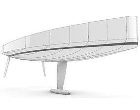 3D model Proven Sailing Hull 11