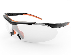 3D model Safety glasses for worker
