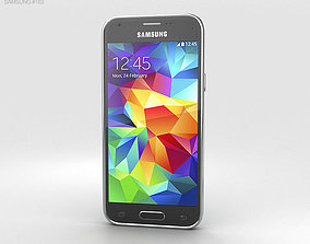 Samsung Galaxy S5 mini Electric Blue 3D