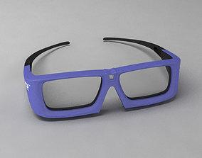 Glasses 3D electronics