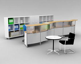 Modern Office Set 3D