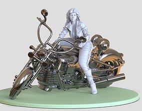 Wonder Woman bike 3D print model