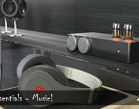 3D asset Interior Essentials - Music
