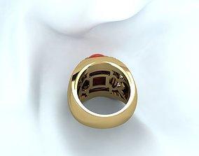 Ruby ring free 3D print model