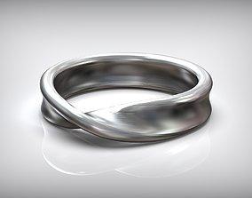 3D printable model Mobius Strip Silver Scandinavian 1