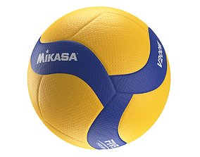 3D Mikasa V200W volleyball