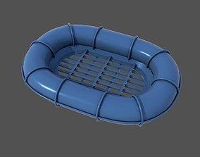 Carley raft 3D printable model