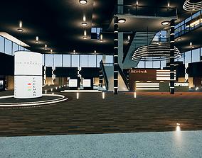 3D asset Corporate Building Freeman