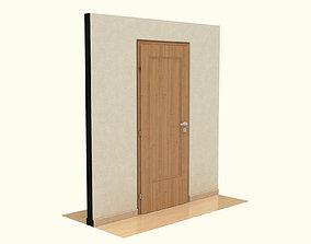 Wooden Door 3D window