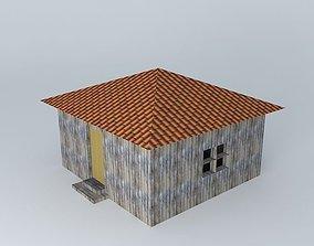 3D model African Bungalo