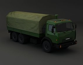 medic 3D model Kamaz Modify 6x4 BR