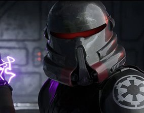 Purge Trooper Helmet clonetrooper 3D printable model