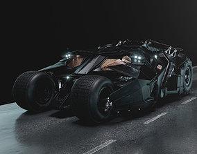 supercar Batmobile Tumbler 3D model