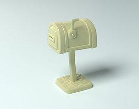 3D printable model Cartoon props - mailbox