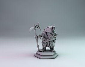 3D printable model Miner